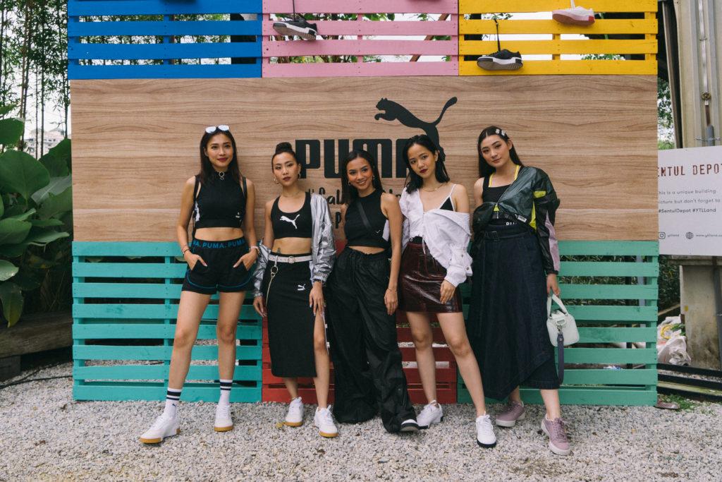 from left Dawn Yeoh, Sonia Chew , Nazla Alifa Senia, Elxi Elvina, Patricia Devina